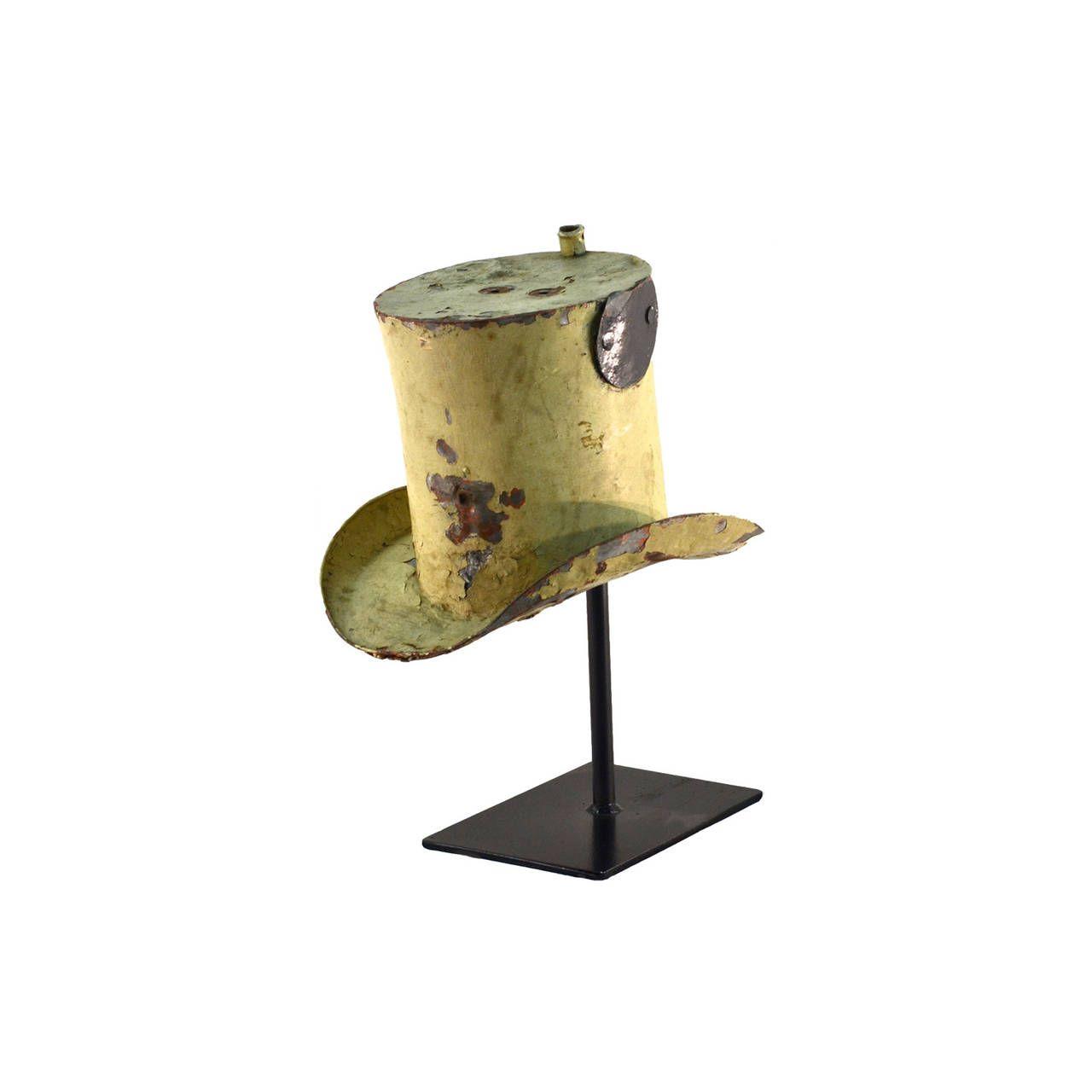 Antique Hatter Trade Sign 2
