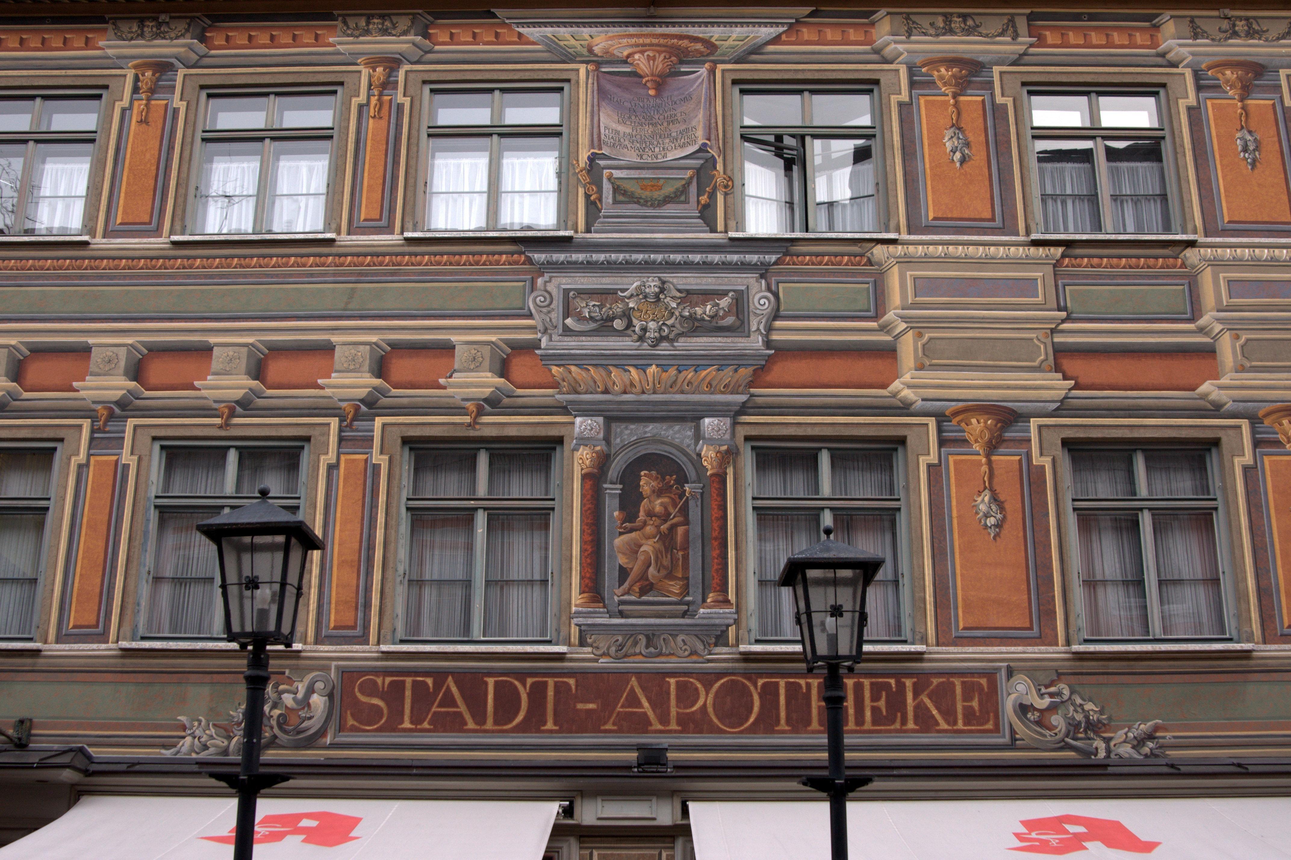 Stadt-Apotheke, Fussen, Bayern, Germany #apotheke #pharmacy #fussen #bayern #germany #deutschland #beautifulpics #beautifulimages #beautifulplaces #travel #beautifuldestinations