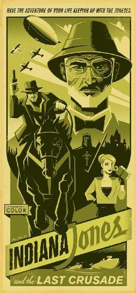 Indiana Jones and the Last Crusade #fanart
