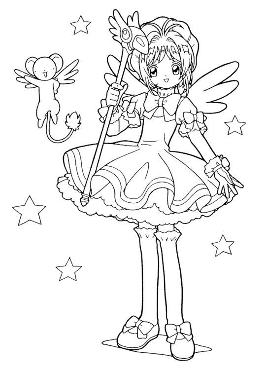 Pin by Kara s on coloring pages | Pinterest | Anime coloring pages ...