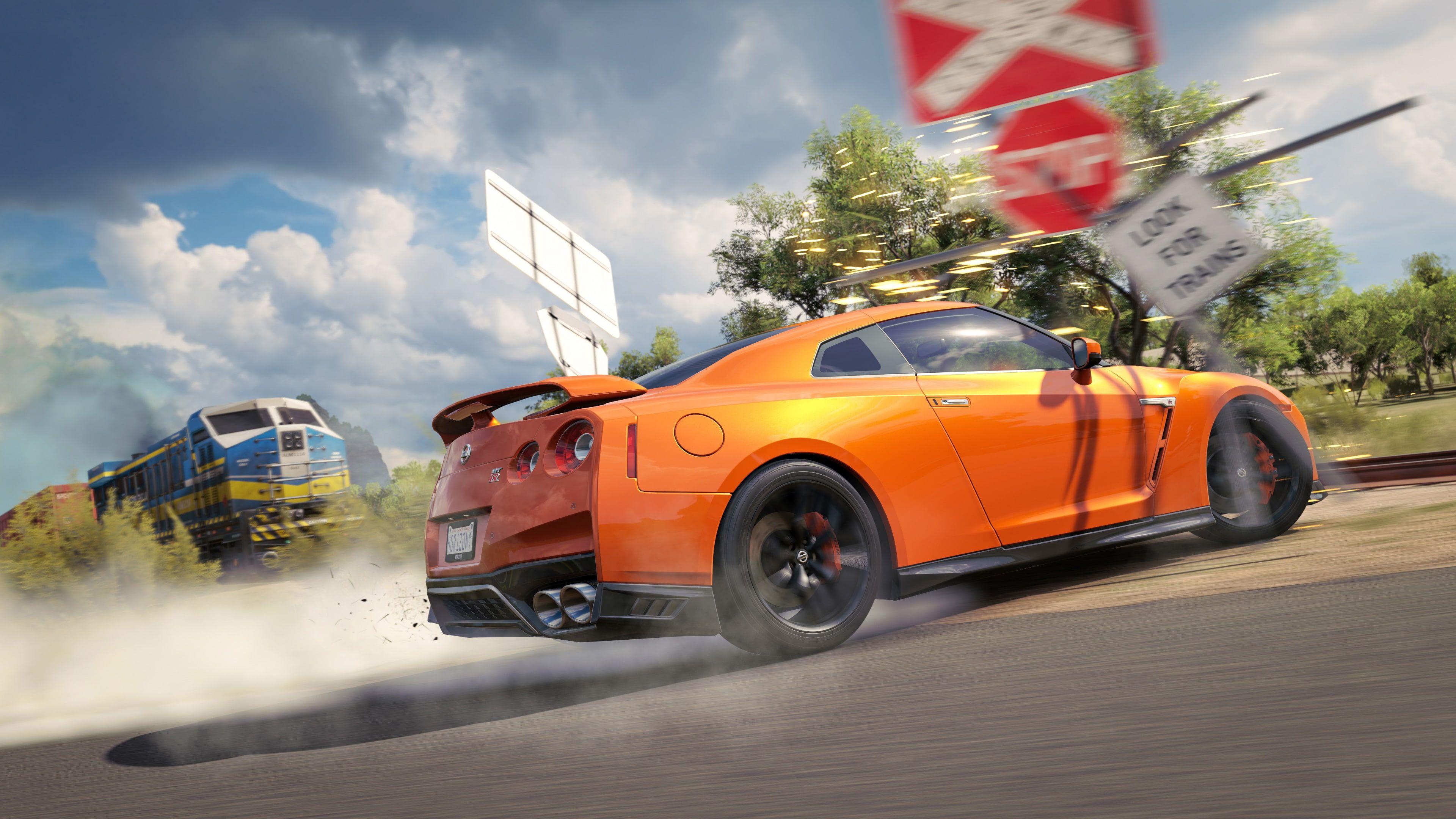 Forza Horizon 3 Nissan Gtr Drift 4k Forza horizon 3