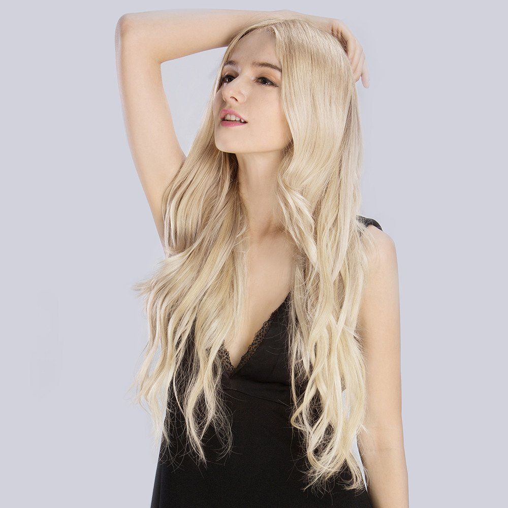 Bleach Blonde613 Clip In Remy Clip In Hair Extensions