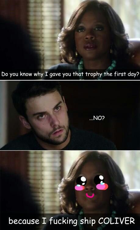 How to get away with Murder and Coliver humor