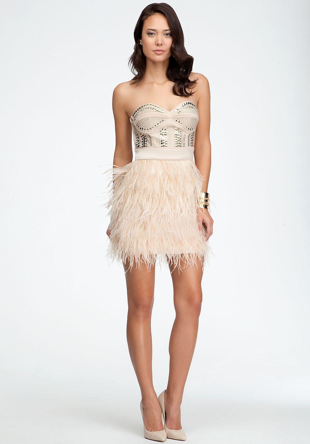 22+ Bebe feather dress ideas in 2021