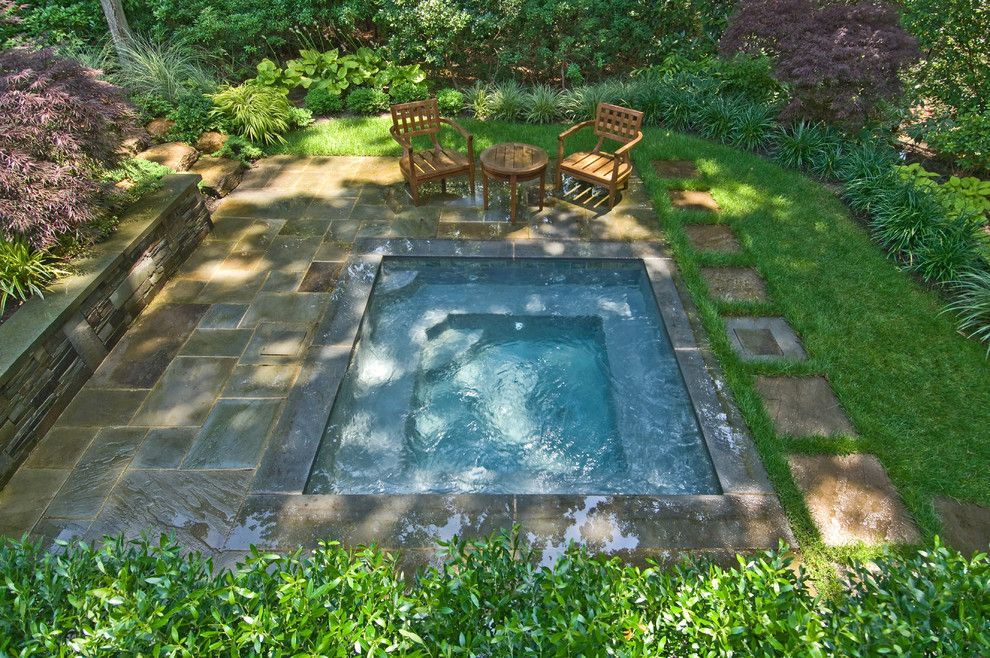 small pools pool traditional coping garden ground hot tub inground with spa pictures cost