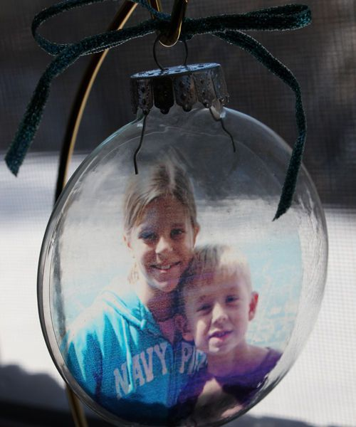 Homemade Ornaments: 10 Ideas for Filling Clear Christmas Ball Ornaments