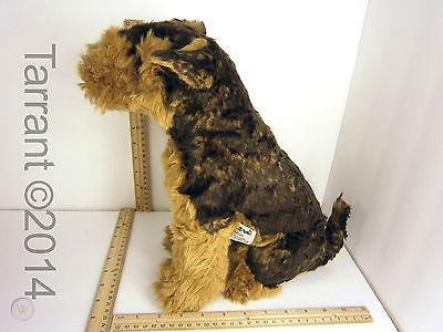 Piutre Topline Plush #2219 - Airedale Terrier Puppy, Sitting (16