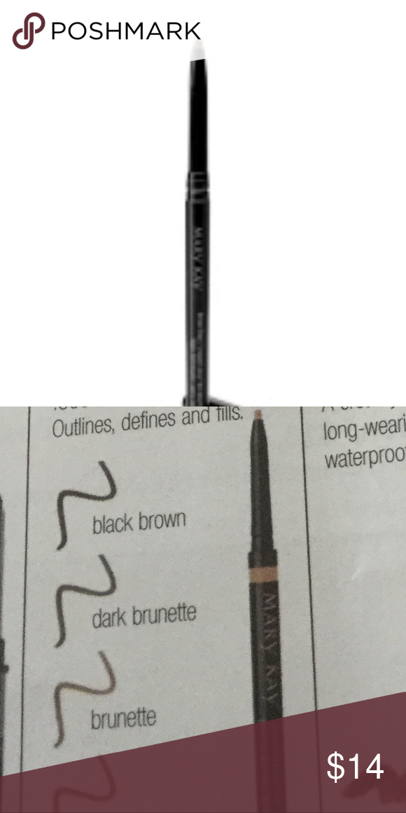 c9ba24363cf Mary Kay Precision Brow Liner: Brunette Precision Brow Liner features a  retractable, no-sharpening-needed microtip to line, define and fill in brows  with ...