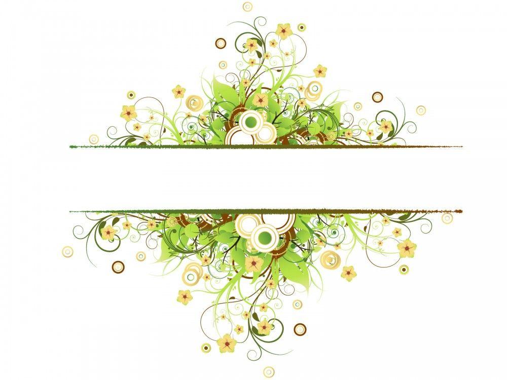 vintage floral frame backgrounds border amp frames ppt