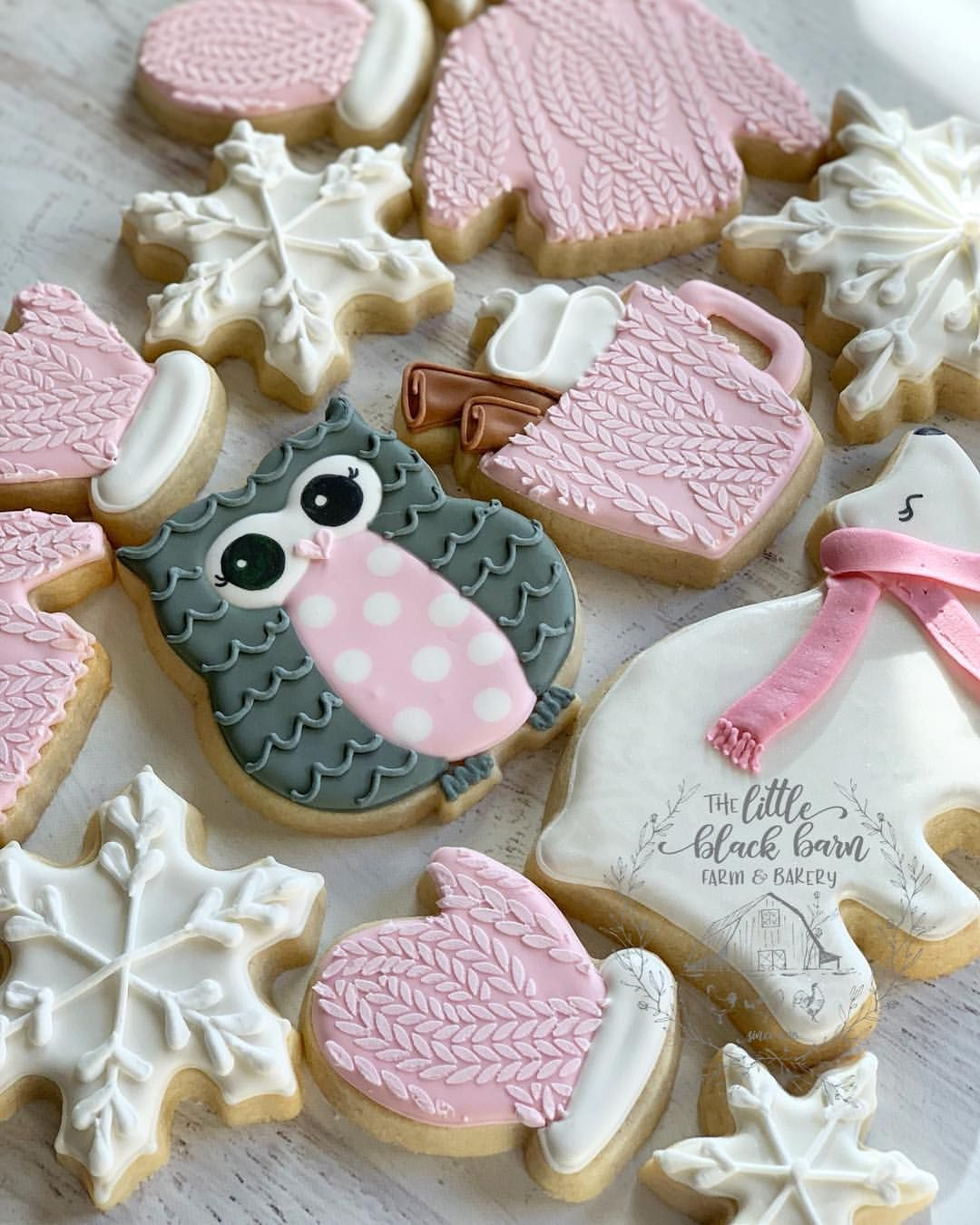 Pink Christmas Cookies I M Dreaming Of A Pink Christmas Cable