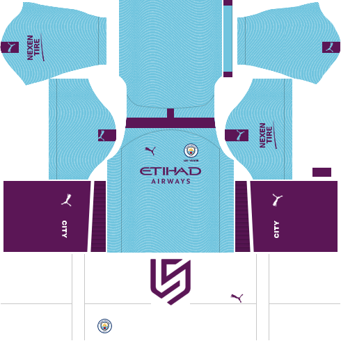 Manchester City Kit 2019 2020 Dream League Soccer 2019 Manchester City Manchester City Logo Manchester
