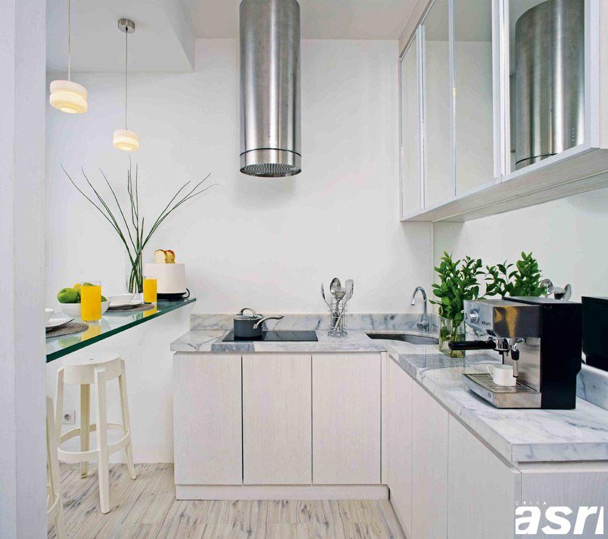 5 Tips Optimalkan Ruang Di Dapur Kecil Majalah Griya Asri