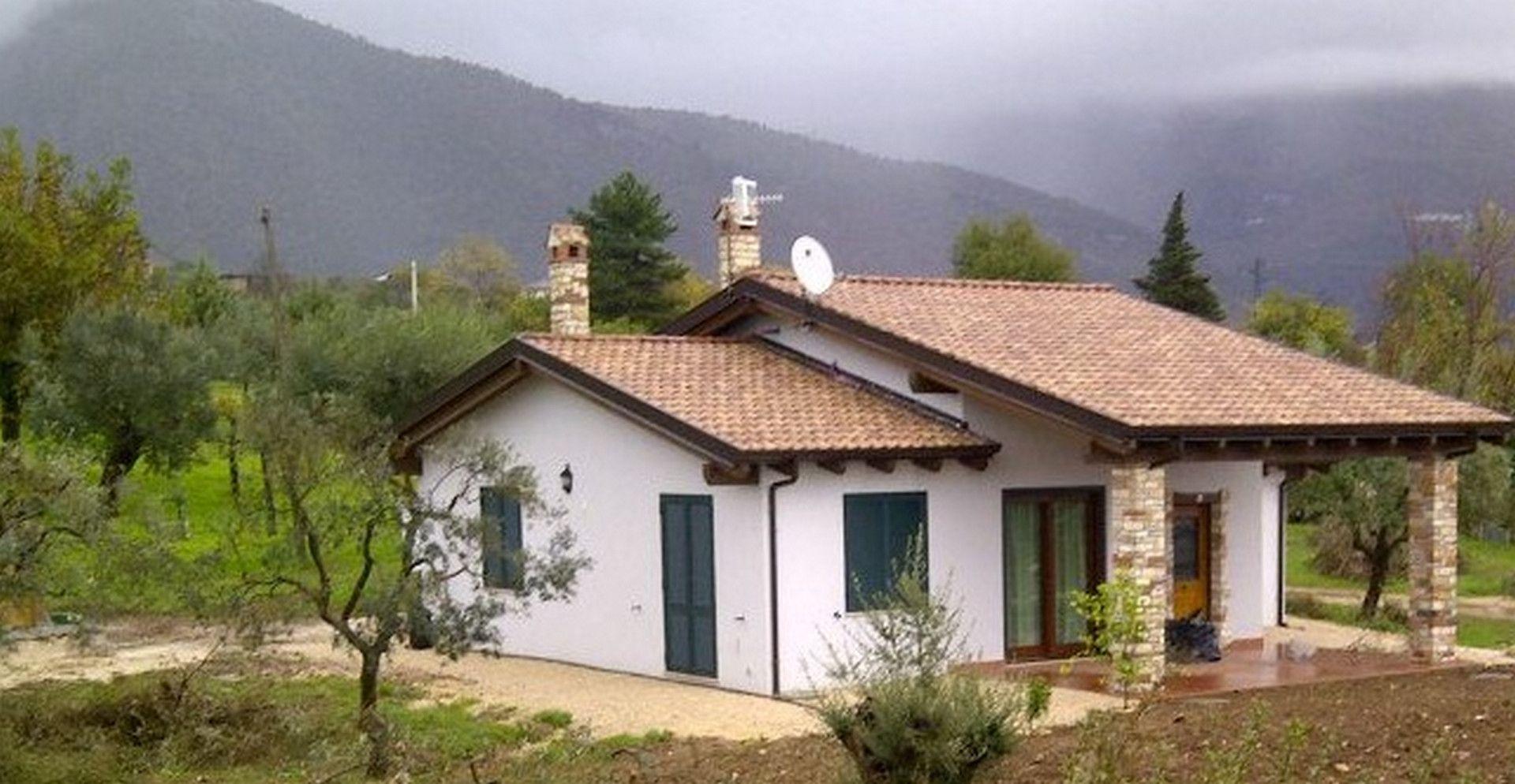Villetta familiare 120 mq alife ce case in legno for Casa in legno 100 mq