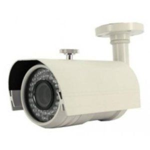 """Zmodo Surveillance CM-S34909BG High Resolution Vari-Focal Weatherproof Security CCD IR Camera Retail by Zmodo. $133.87. Description:Keep an eye on the people and places you care about most with this color CCD bullet camera. Featuring imaging provided by a 1/3"""" SONY WDR Color CCD with HSBLC on, it delivers great video quality at 600 TV lines of resolution, which can be used to read plates on every vehicle within 25ft distance. With built in 42 IR LEDs, this cam..."""