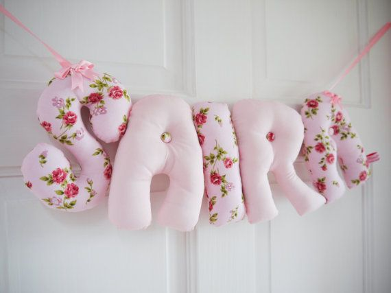 Saira our unique padded baby names are perfect for hanging on saira personalised baby name wall hanging new baby girl christening gift our unique banners are available in our etsy folksy shops negle Image collections