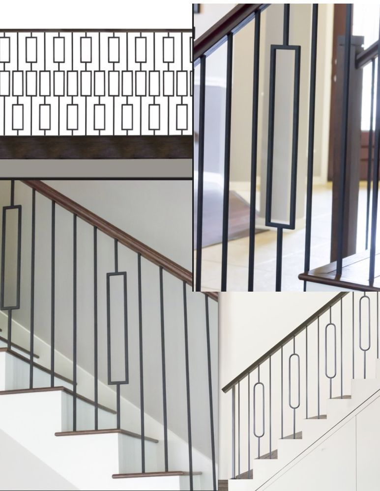 Best Iron Balusters Iron Spindles Iron Stair Parts Craftsman 640 x 480
