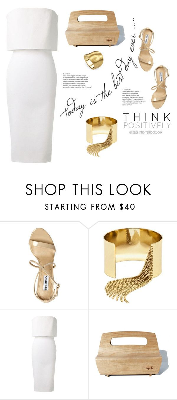 """""""SPRING HAS SPRUNG!"""" by elizabethhorrell ❤ liked on Polyvore featuring Steve Madden, BaubleBar, Victoria Beckham and Marco Bicego"""