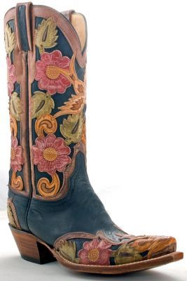 Girly Cowgirl Boots - Boot End