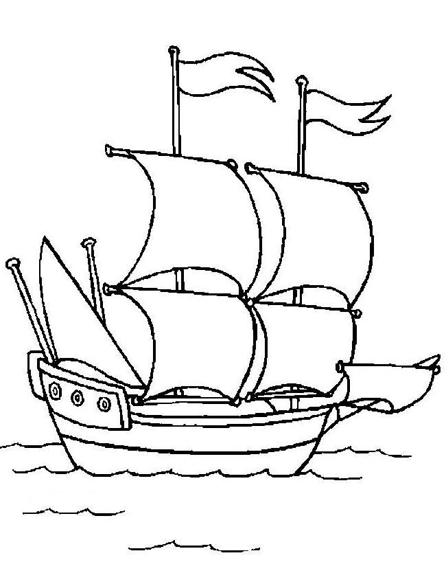 Coloring Pages Boats And Sailboats 27 Dody Pirate Coloring