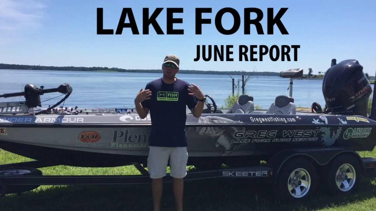 Lake fork guide greg wests june fishing report lake fork