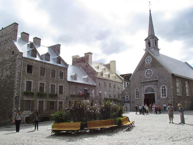 Place Royale Quebec Canada Quebec City Old Quebec