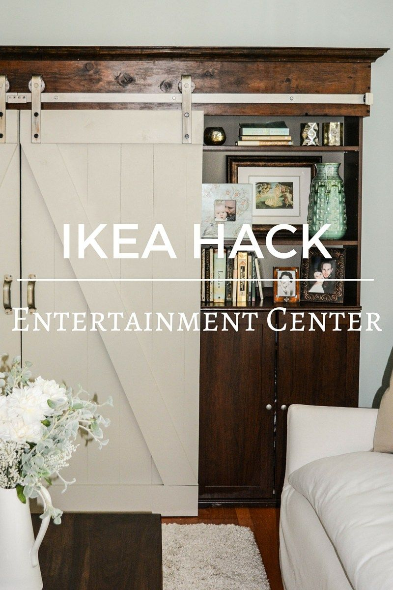 Ikea Hack Barn Door Entertainment Center Barn Door Entertainment Center Remodel Bedroom Small Bedroom Remodel