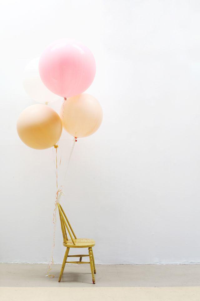 Fringe Balloons - DIY