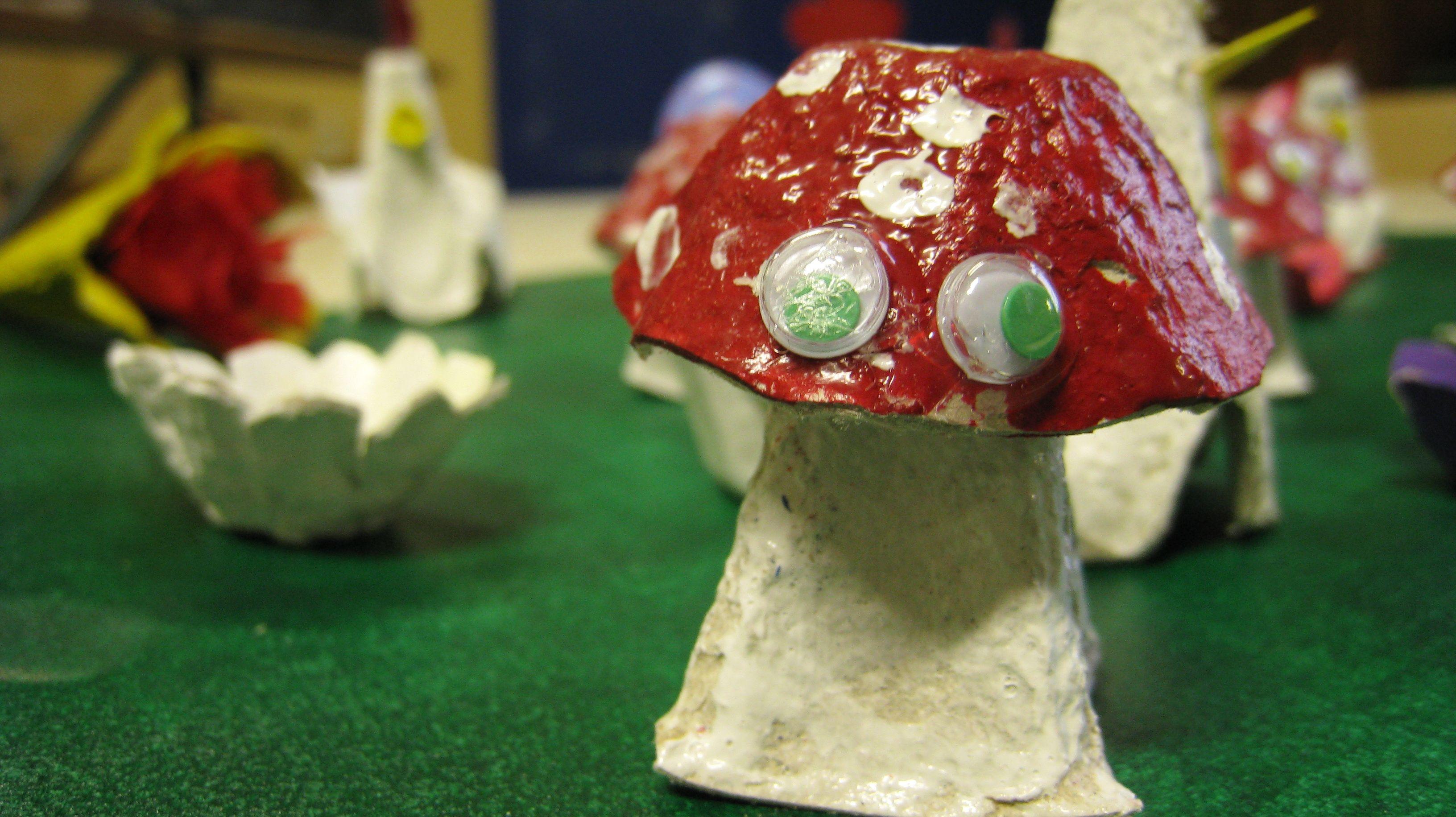 champignons...