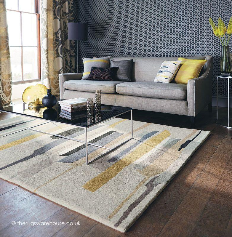Zeal Pewter Rug Harlequin Designer Rugs Modern Rugs Rugs In Living Room Living Room Carpet Room Carpet