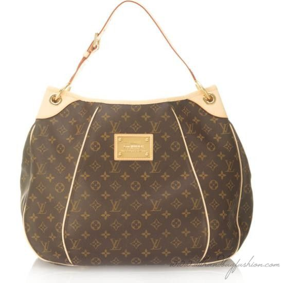 cb51b51ef7ef Louis Vuitton Monogram Canvas Galliera GM Handbag This beautiful Louis  Vuitton hobo handbag features both high-fashion and function. Monogram-patterned  b