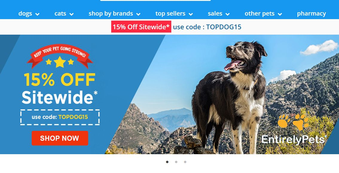 Entirelypets Is Giving 15 Off Sitewide Online Pet Supplie Pet Meds Pet Products Flea Control Frontli Pet Meds Discount Dog Supplies Medication For Dogs