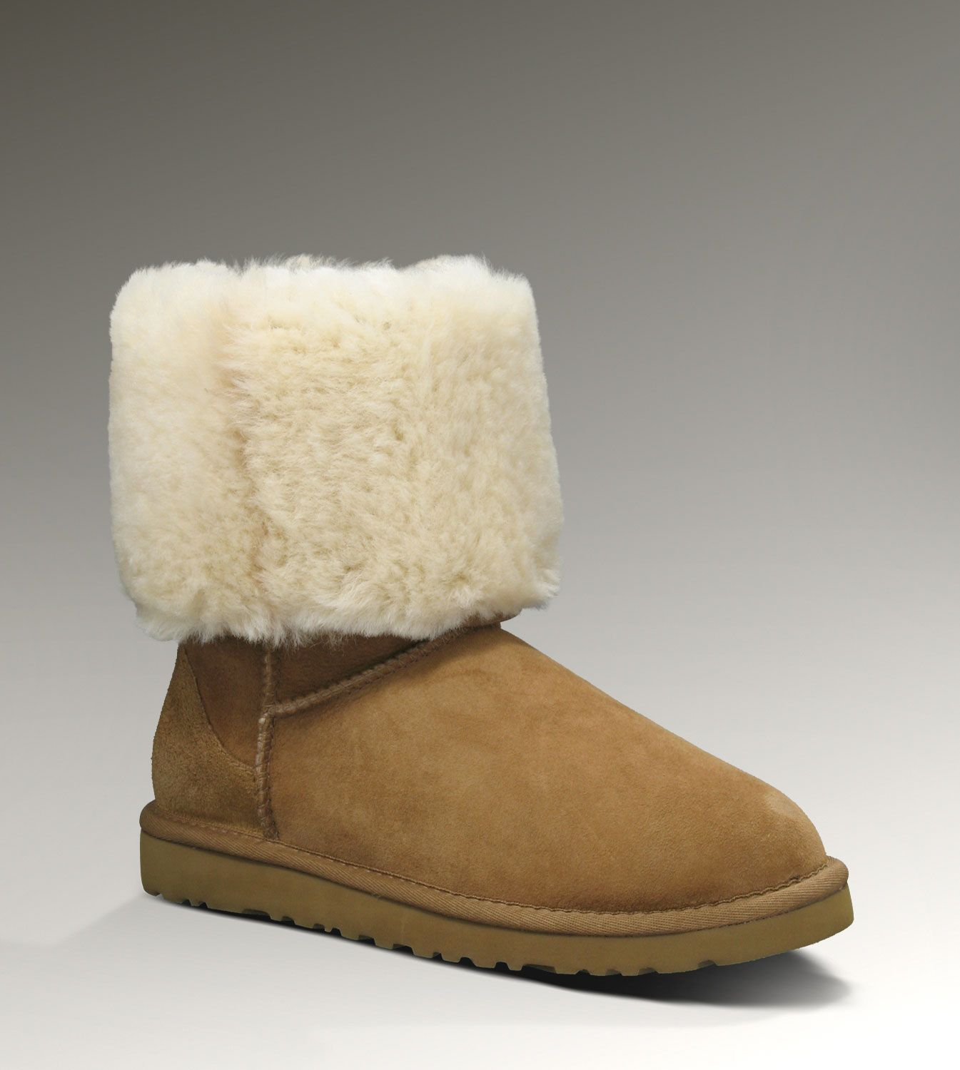 tall uggs rolled down