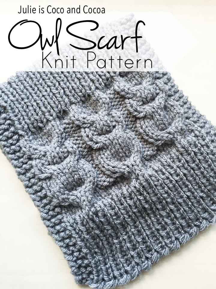 Owl Scarf Knit Pattern | Pinterest | Owl scarf, Knit patterns and Owl