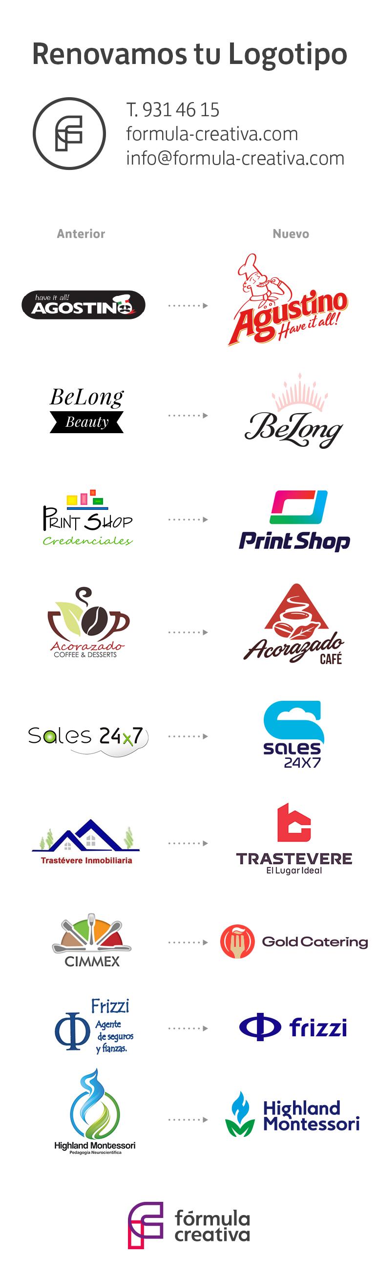 0c1aa8c28c Rediseño de logotipos 2018-2019, diseñador de logos en mexico, logotipos  mexico,