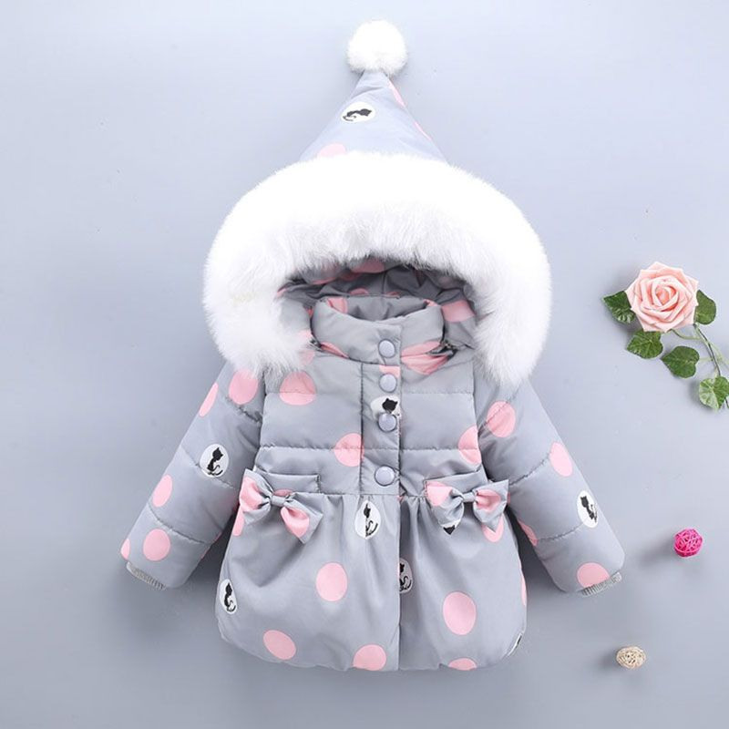 73af09461 Nice For Baby girl autumn winter clothing cotton jacket outerwear infant  baby girl outfits clothes casual sports hooded jackets coats - $46.96 - Buy  it Now!