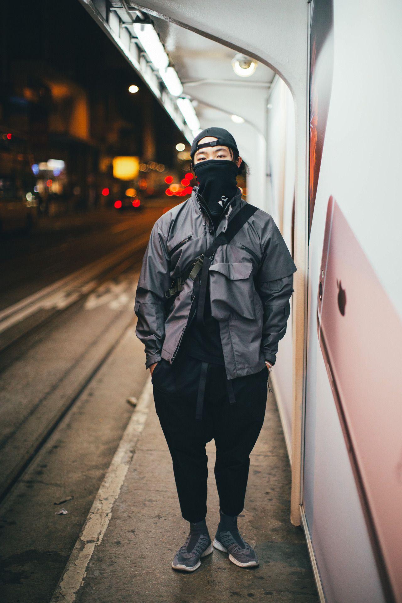 Techwear Cyberpunk clothes, Cyberpunk fashion