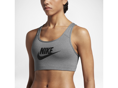 ed096a2dc3 Nike Classic Swoosh Futura Women s Medium Support Sports Bra ...