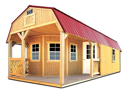 Deluxe Playhouse Package - Old Hickory Buildings Old Hickory ... on