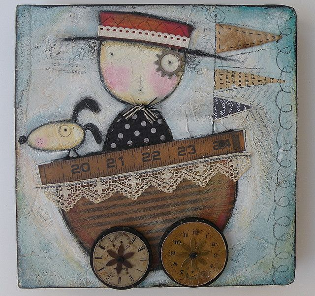 julie haymaker - love this | Collage art mixed media, Art ...