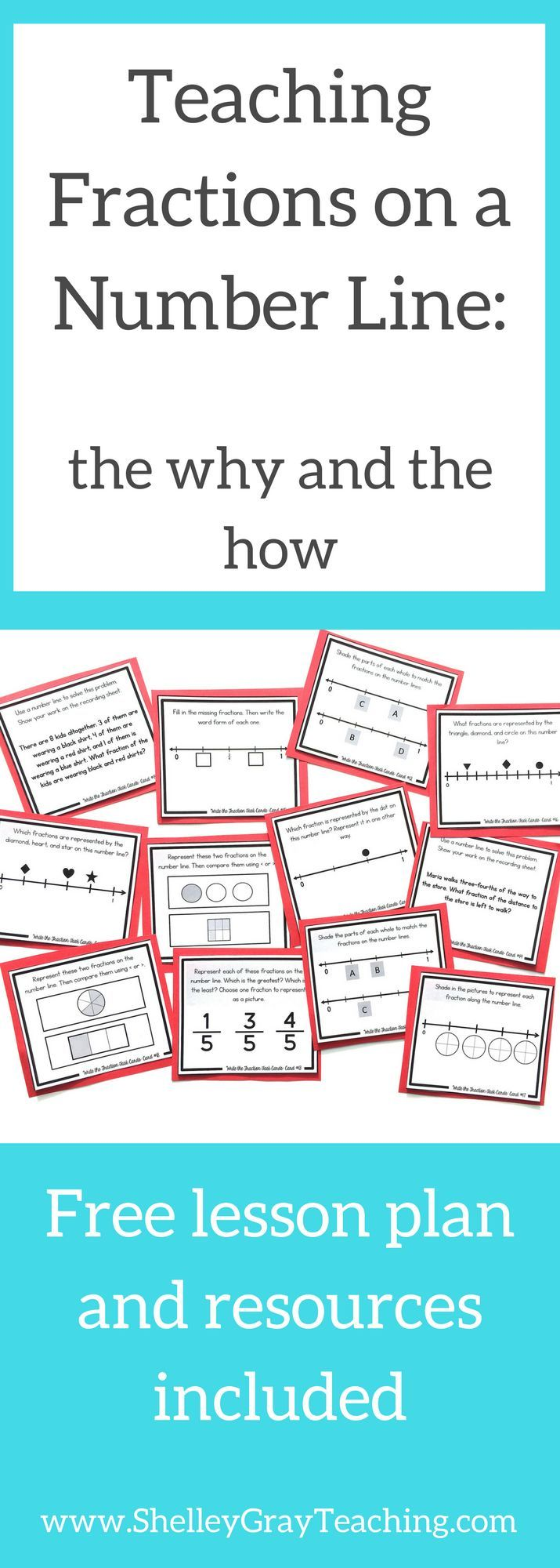 How to Teach Fractions on a Number Line (with a free lesson plan ...