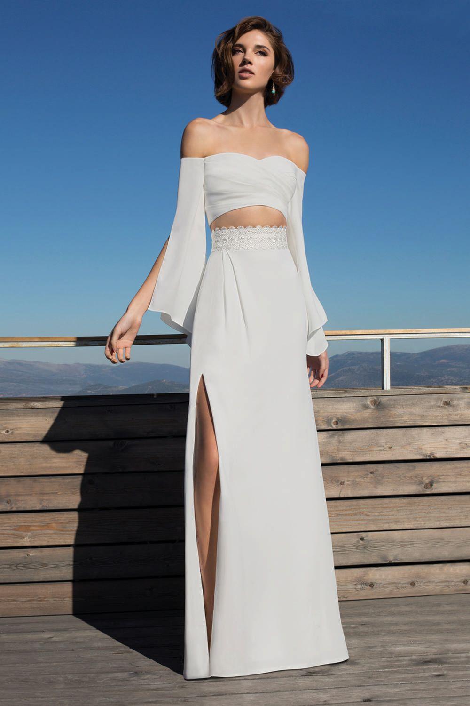 Metropolitan collection wedding dress style me this sensuous