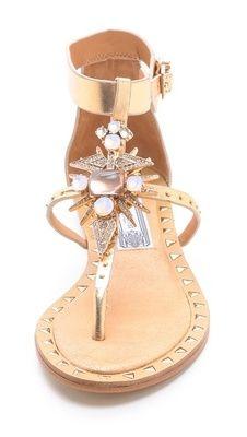 Sparkle sandals, Crazy shoes
