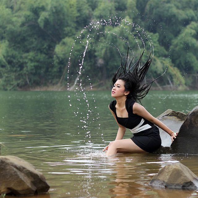 Вода женщина секс