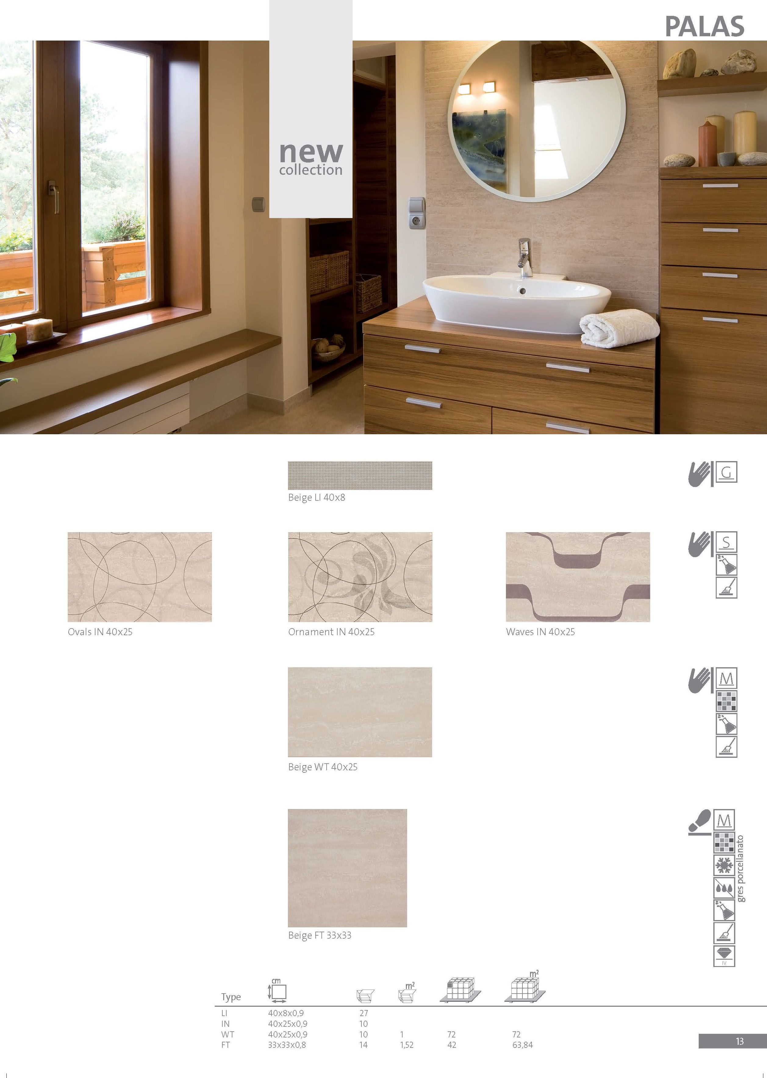 Ceramic Tiles From Palas Collection Are Highly Sophisticated Will
