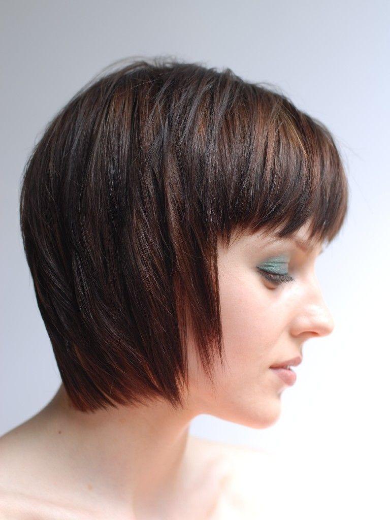 Invertedbobhaircutsfor  hair style  Pinterest  Inverted bob