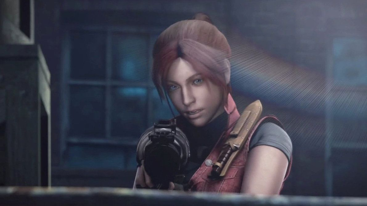 Claire redfield video games and videogames