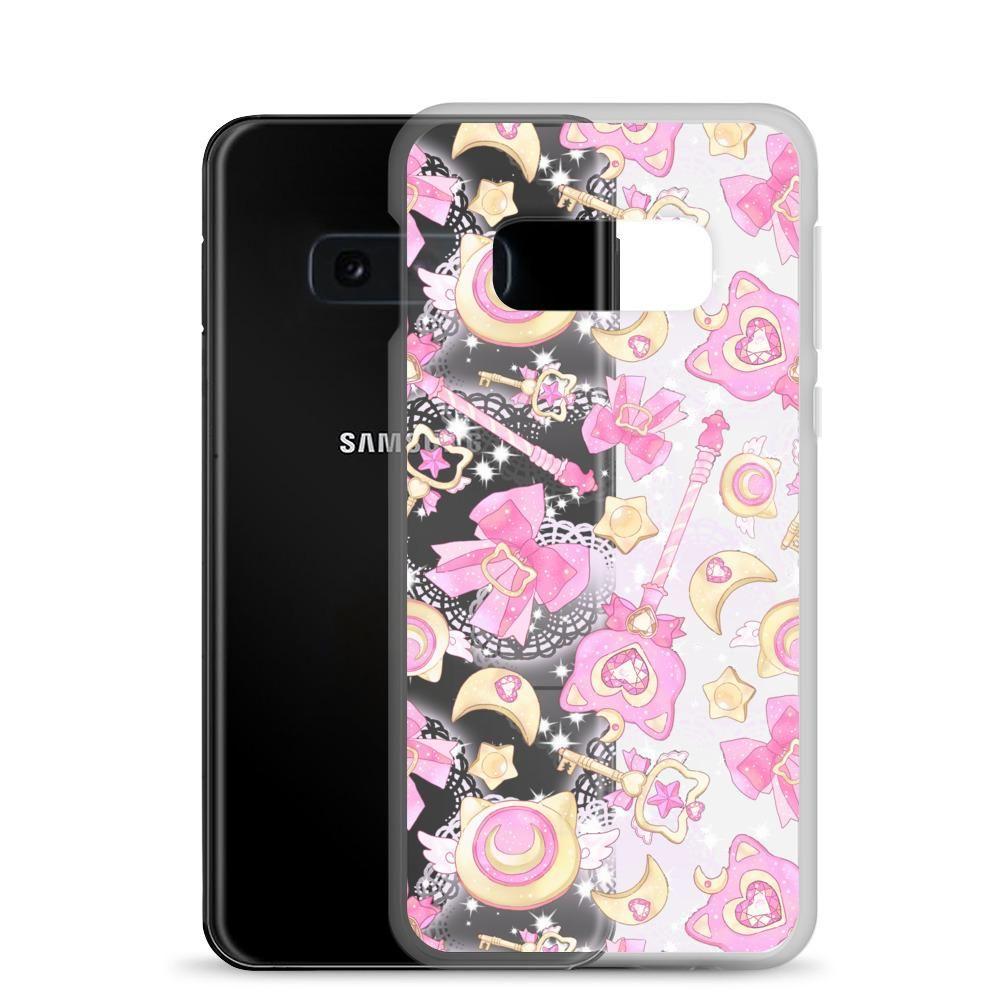 Magical Girl Samsung Case (Transparent) - Samsung Galaxy S10e