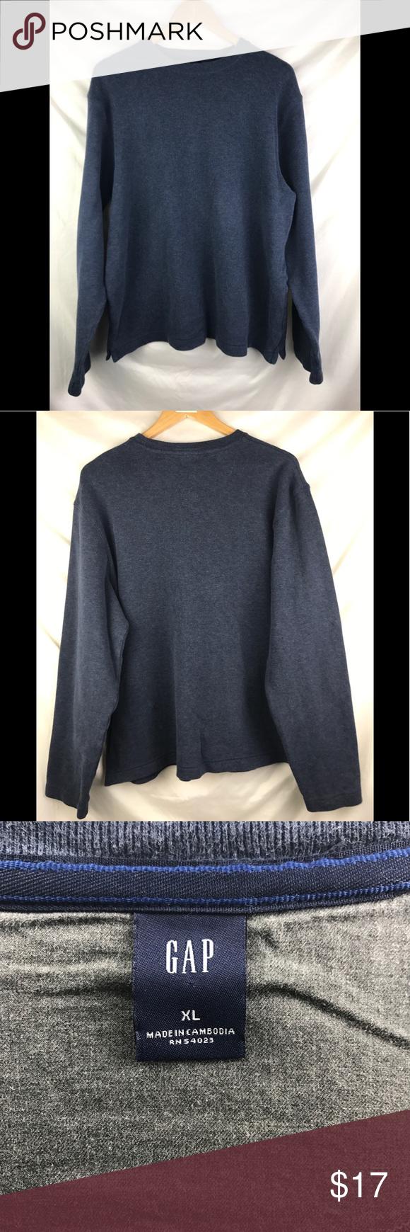 Gap Men S Sweater Xtra Large Crewneck Xl Sweaters Men Sweater Clothes Design [ 1740 x 580 Pixel ]