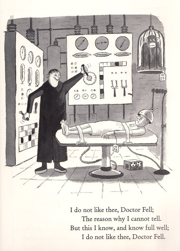 Charles Addams Illustrates Mother Goose, 1967 | Brain Pickings