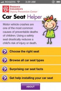 Car Seat Safety Simplified » 148Apps » iPhone, iPad, and